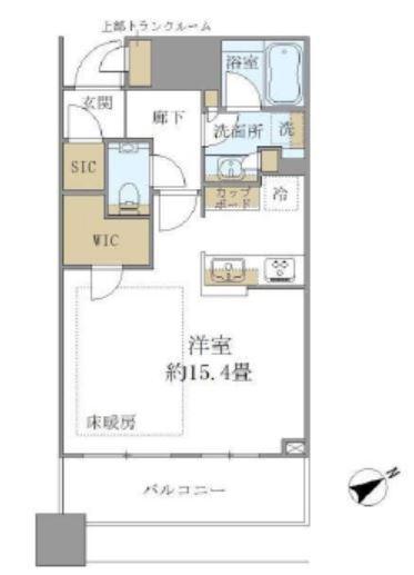 ブリリアタワーズ目黒 サウスレジデンス 12階 1R 250,000円の写真1-slider