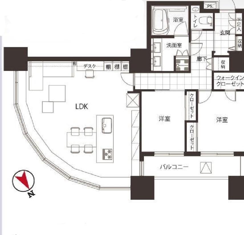 東京ツインパークス16階