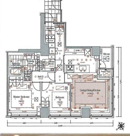 ザ・レジデンス六本木5階